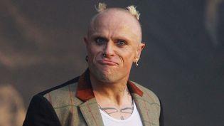 Keith Flint de The Prodigy sur scène en 2011.  (Iliya Pitalev / Sputnik / AFP)