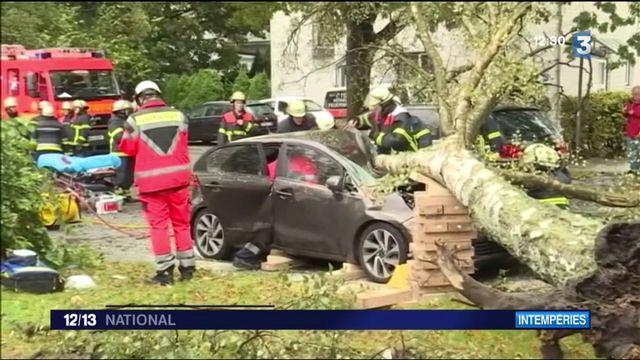 Allemagne : le nord et l'est du pays balayés par la tempête Xavier