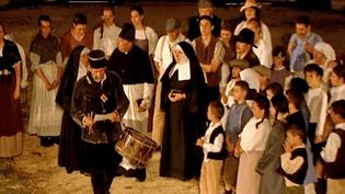 UNe grande partie du village de Sainte-Solange participe au spectacle.  (France 3 Centre)