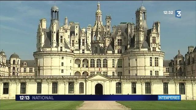 Inondations : Le château de Chambord lance un appel aux dons
