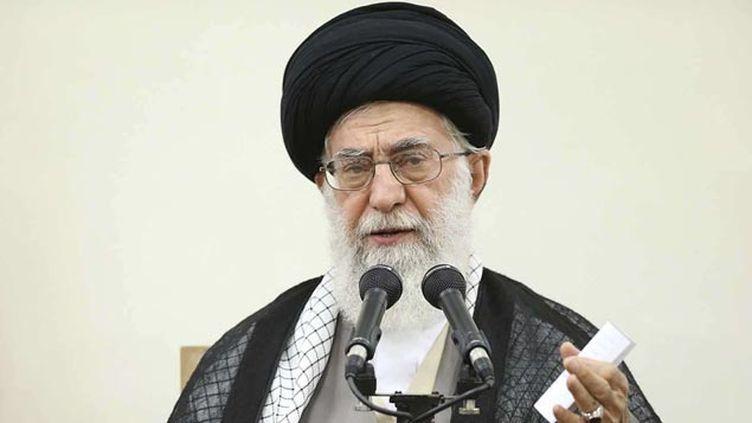 (Le guide suprême iranien, l'ayatollah Ali Khamenei en septrembre 2015 © UNCREDITED/AP/SIPA)