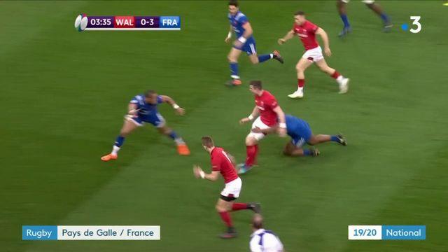 Rugby : défaite du XV de France face au Pays de Galles (14-13)