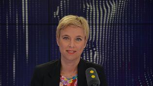 Clémentine Autain, députée La France insoumise. (RADIO FRANCE / JEAN-CHRISTOPHE BOURDILLAT)