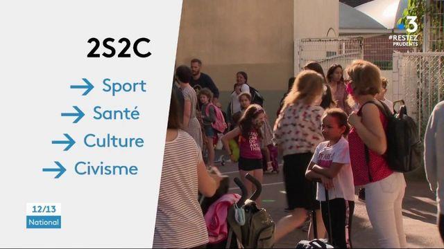 Déconfinement : le dispositif 2S2C se met en place dans les écoles