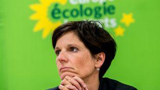 La secrétaire nationale adjointed'Europe-Ecologie-Les Verts, Sandrine Rousseau, le 19 août 2015. (PHILIPPE HUGUEN / AFP)