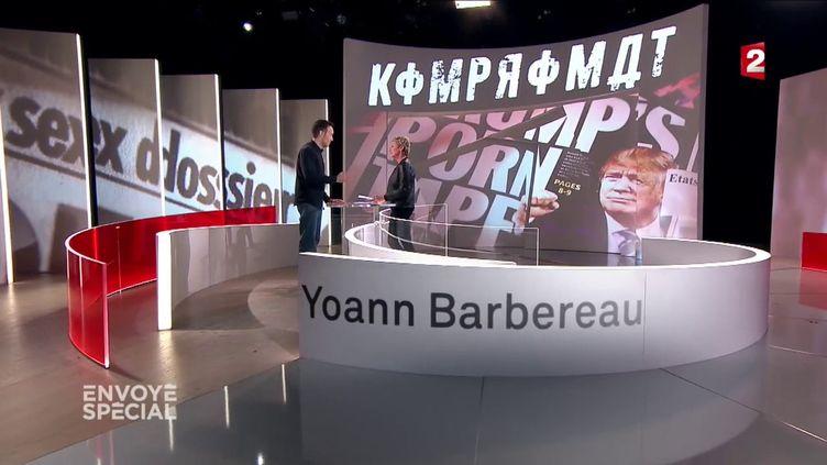 "Après sa libération, Yohann Barbereau invité d'""Envoyé spécial"" (FRANCE 2 / FRANCETV INFO)"