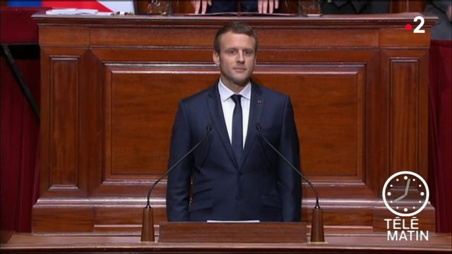 Emmanuel Macron va s'exprimer devant le Congrès à Versailles
