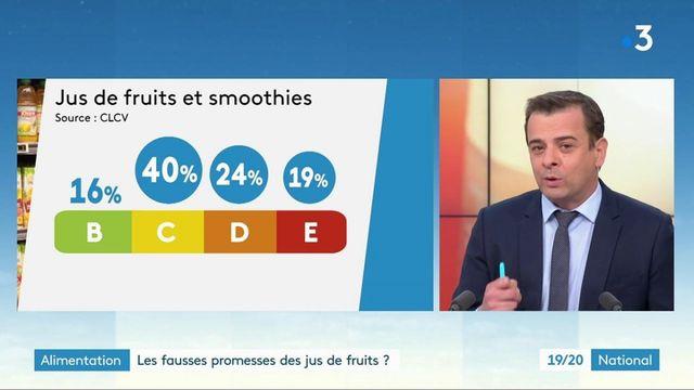 Alimentation : mieux vaut se méfier des promesses des jus de fruits