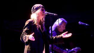 Patti Smith sur scène à Marseille le 20 août 2019 (NICOLAS VALLAURI / MAXPPP)