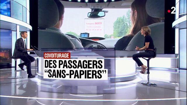 """Covoiturage : des passagers """"sans-papiers"""""""