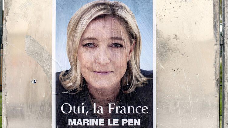(Le Front National aurait déclaré des comptes de campagne surévalués à hauteur de 1,2 millions d'euros © AFP / JEFF PACHOUD)