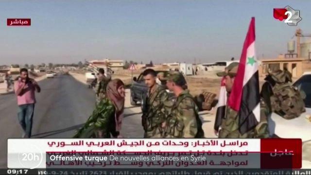 Syrie : l'offensive turque oblige les Kurdes à de nouvelles alliances