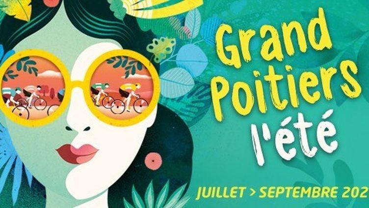 """Affiche de la manifestation """"Grand Poitiers de l'été, les jeudis de l'été"""" à Poitiers (Grand Poitiers)"""
