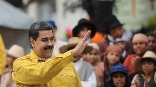 Le président vénézuélien, Nicolas Maduro, le 1er février 2018 à Caracas (Venezuela). (REUTERS)