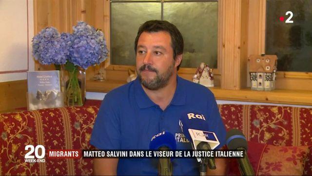 Migrants : Matteo Salvini visé par une enquête