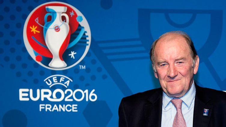 (Jacques Lambert, président de l'organisation de l'Euro © Maxppp)