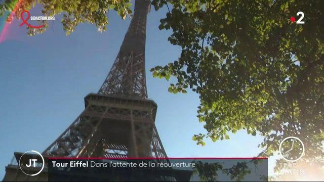 Tour Eiffel: dans l'attente de la réouverture