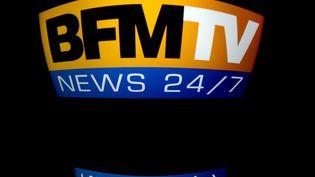 Orange avait coupé la diffusion des chaînes BFM TV, RMC Découverte et RMC Story jeudi 5 septembre 2019. (LIONEL BONAVENTURE / AFP)