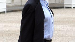 Georges-Marc Benamou devant l'Élyseeen mai 2007. (PATRICK KOVARIK / AFP)
