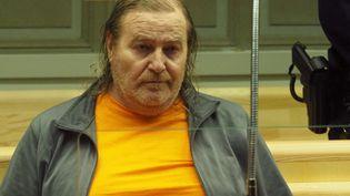 Jacques Rançon lors de son procèspourle viol et le meurtre de deux femmes à la fin des années 1990,le 5 mars 2018 devantla cour d'assises des Pyrénées-Orientales, à Perpignan. (RAYMOND ROIG / AFP)