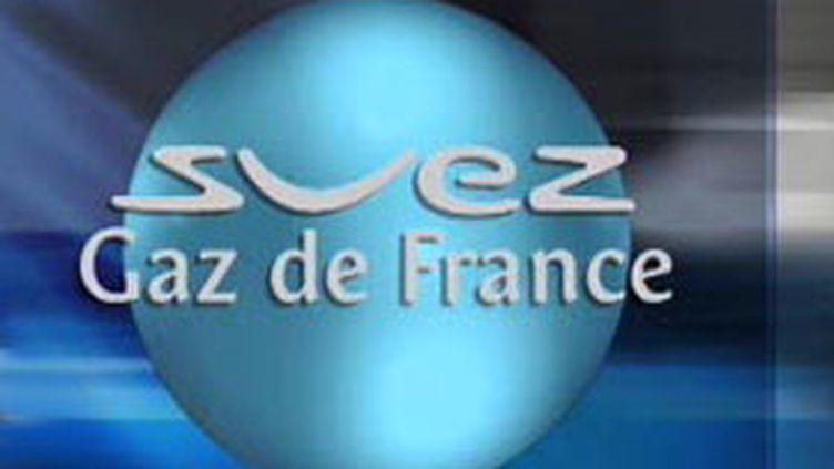 Le logo de Suez-GDF, quatrième groupe énergétique mondial (© France 2)