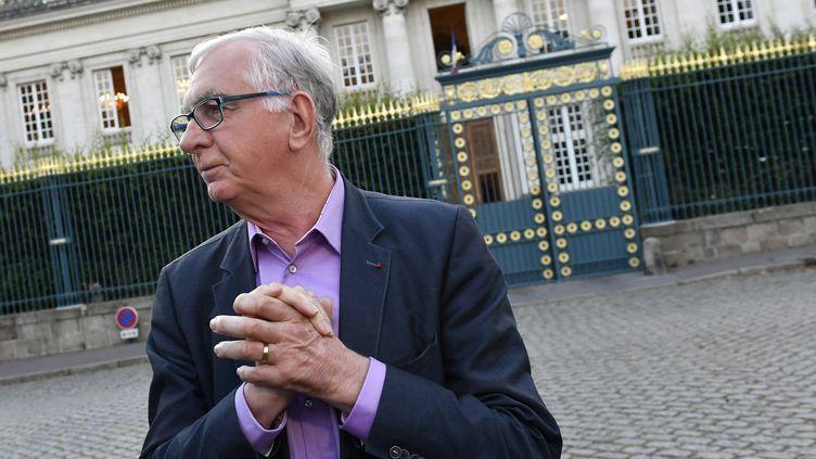 Alain Mustière, président du collectif des Ailes pour l'Ouest, le 26 juin 2016 à Nantes. (FRANCK DUBRAY / MAXPPP)