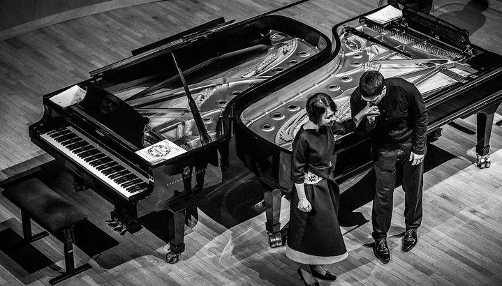 Le duo Ludmila Berlinskaïa/Arthur Ancelle.  (Laurent Bugnet)