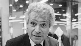 Le couturier Francesco Smalto en octobre 1984 à Nice  (GATTI / AFP)