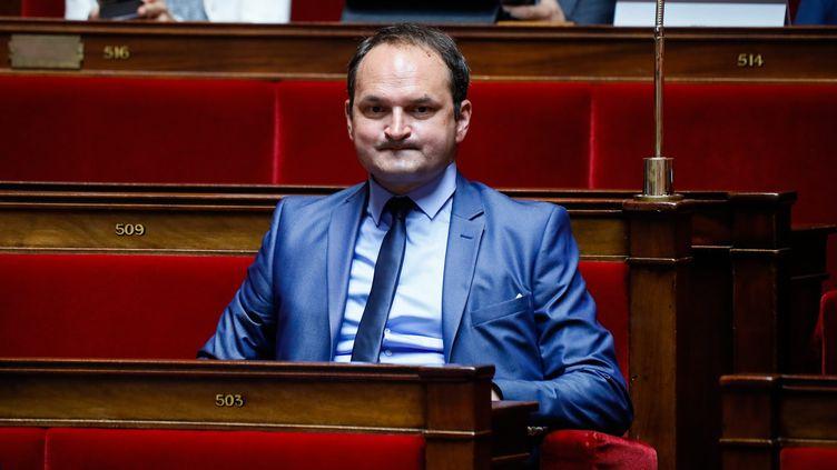 Le député Nouvelle gauche Régis Juanico à l'Assembléee nationale le 1er août 2017. (THOMAS PADILLA / MAXPPP)