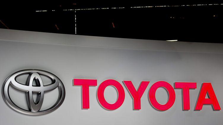 Le constructeur japonais Toyotalors du Salon de l'automobile à Paris, le 2 octobre 2018. (MAXPPP)