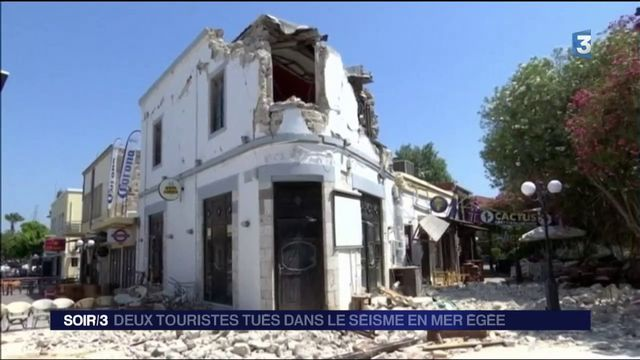 Grèce : le point sur le séisme ressenti à Kos