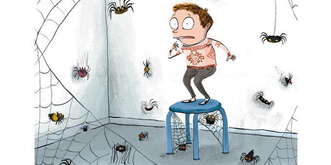 Comment ratatiner les araignées?  (Roland garrigue / P'tit Glénat)