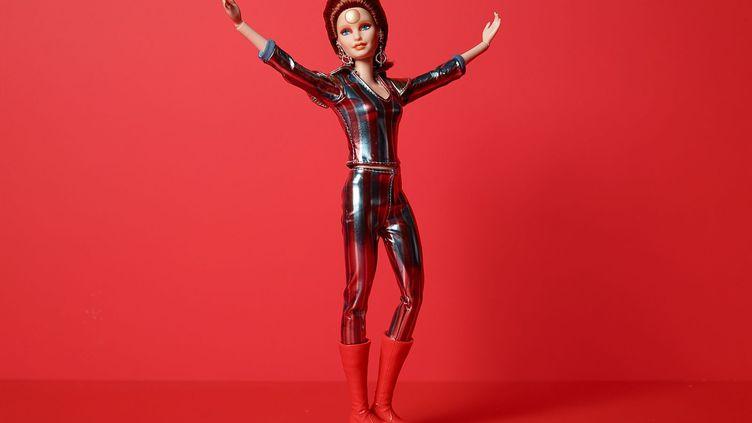 La poupéeBarbie®collector en tenue de David Bowie commercialisée le 11 juillet 2019 par Mattel. (MATTEL)