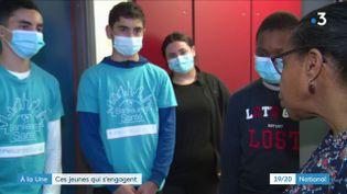 Dernier reportage de la série proposée par France 3 consacrée aux jeunes. Certains d'entre eux se sont révélés pendant la crise sanitaire avec l'envie et le besoin d'apporter leur aide. (France 3)