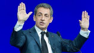 Nicolas Sarkozy, le 14 février 2016 à Paris. (CITIZENSIDE/SERGE TENANI / CITIZENSIDE.COM / AFP)