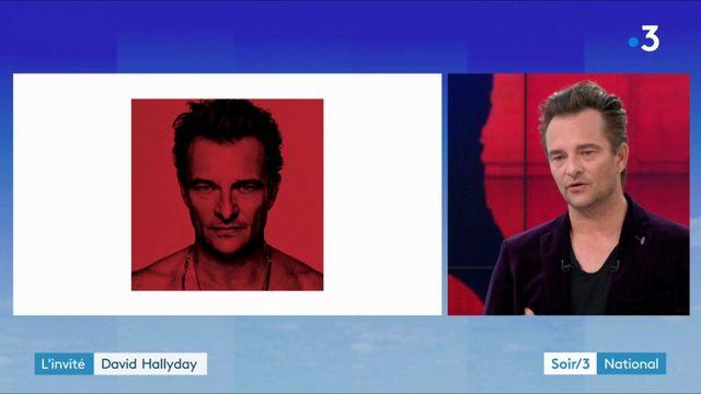 """David Hallyday : """"Un album très difficile à composer"""""""