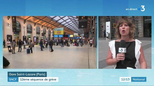 SNCF : 12e épisode de grève