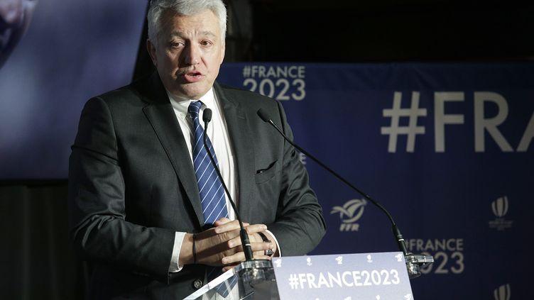 Claude Atcher dirige la candidature française  (GEOFFROY VAN DER HASSELT / AFP)
