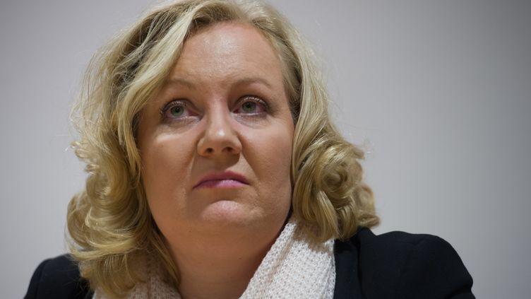 L'eurodéputée et conseillère régionale dans l'Est Sophie Montel, le 28 ocotbre 2015. (SEBASTIEN BOZON / AFP)