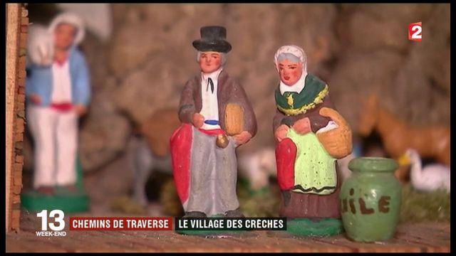 Alpes-Maritimes : Lucéram, le village des crèches