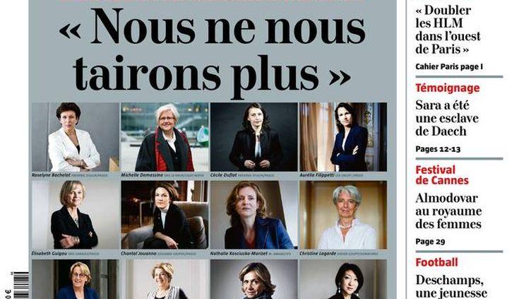 """La une du """"Journal du Dimanche"""", le 15 mai 2016. (LE JOURNAL DU DIMANCHE)"""