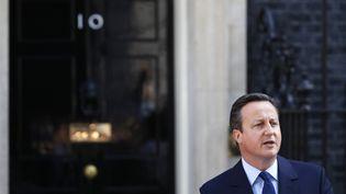 David Cameron annonce sa prochaine démission, à Londres le 24 juin 2016. (PHIL NOBLE / REUTERS)