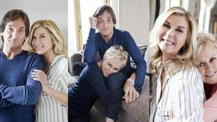 Pierre Palmade, Michèle Laroque et Muriel Robin : 3 couples en alternance sur scène  (Julien Vallon Bestimage)