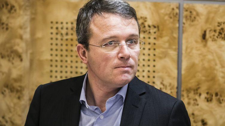 Le président Les Républicains du conseil départemental de l'Essonne, François Durovray, le 27 novembre 2019. (VINCENT ISORE / MAXPPP)