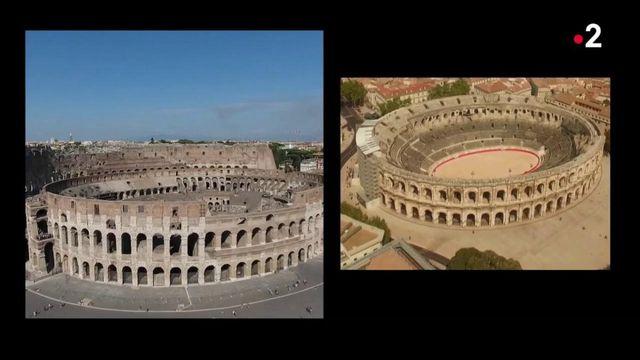 Italie : la mairie de Rome confond le Colisée et les arènes de Nîmes dans un clip promotionnel