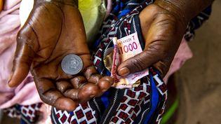 AKorbongou, au Togo, en mars 2020. (GODONG / BSIP via AFP)