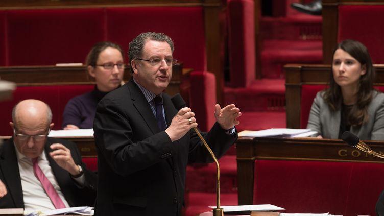 Le député du Finistère, Richard Ferrand, le 30 janvier 2015 à l'Assemblée nationale. (WITT / SIPA)