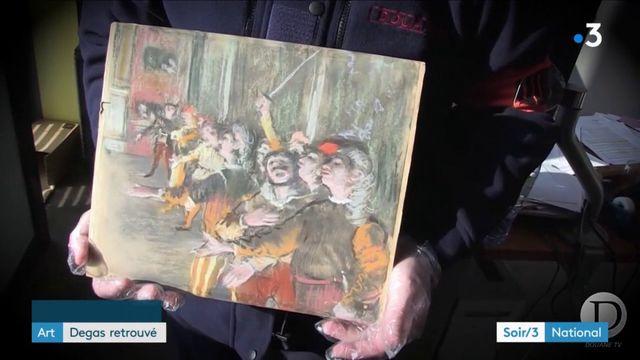 Art : un Degas retrouvé dans la soute d'un car