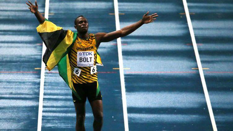 Le sprinteur jamaïquain Usain Bolt