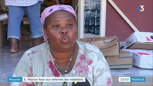 Mayotte : pour Emmanuel Macron, le défi de l'immigration